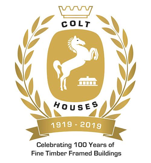 Colt Houses Centenary Logo